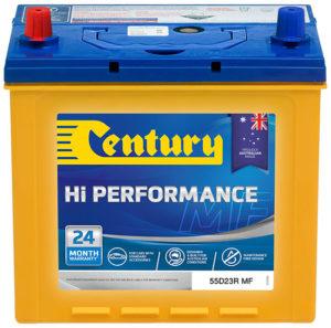 Century Hi Performance Car Battery 55D23R MF Car